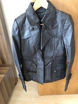 Lederjacke aus echtem Leder