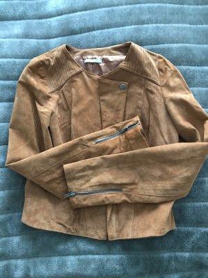 Lederjacke aus Nappaleder, Größe 36