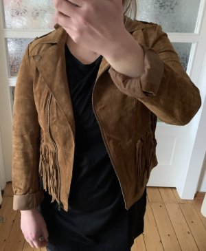 Darling Harbour Leather Jacket multicolored