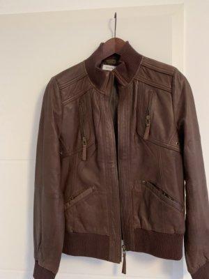 Lederjacke aus weichem Leder