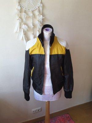 Lederjacke außergewöhnlich 70er Style