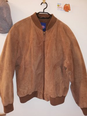 Authentic Leather Jacket brown-cognac-coloured