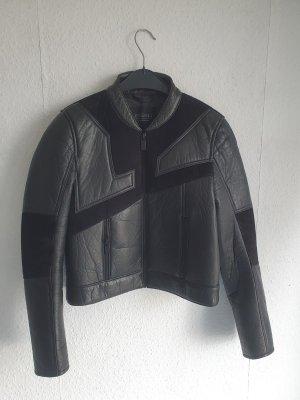 Eleven Paris Leather Jacket black