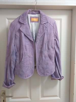 Biba Leather Jacket purple