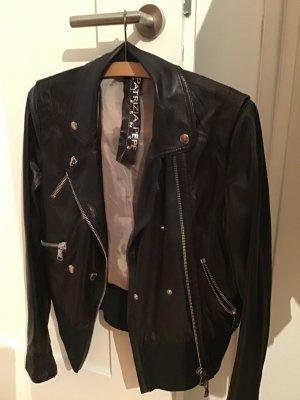 Patricia Pepe Biker Jacket black leather
