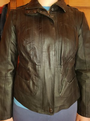 Best Connections Leather Jacket black leather