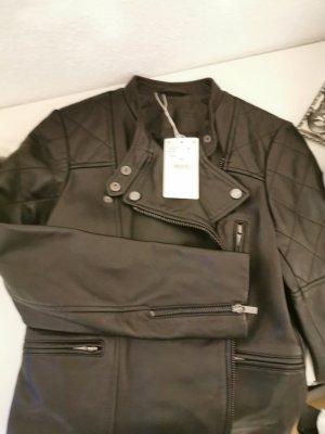 Comptoir des Cotonniers Leather Jacket black