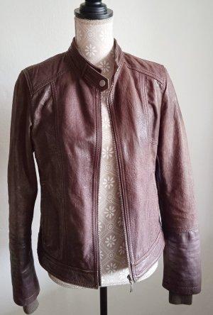 Coolwater Biker Jacket brown-dark brown leather