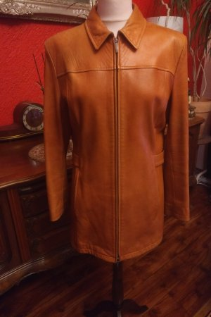 Burberry Leather Jacket sand brown