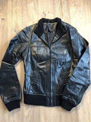 Castro Leather Jacket black