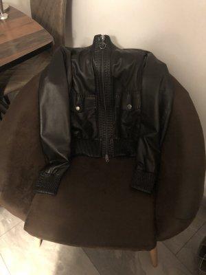 Cinque Leather Jacket black leather