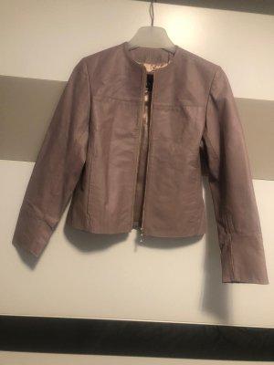CKN of Scandinavia Leather Jacket mauve