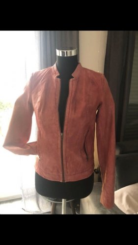 Conleys Leather Jacket bright red