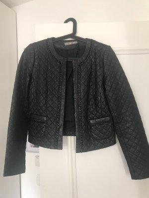 Lederjacke Damen schwarz
