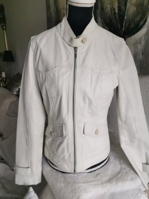 Oakwood Leather Jacket white leather
