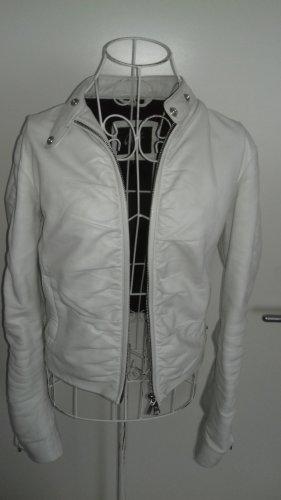 Gipsy Skórzana kurtka biały Skóra