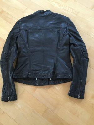 Esprit Biker Jacket black leather