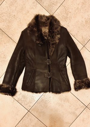 0039 Italy Winter Jacket brown-dark brown fur