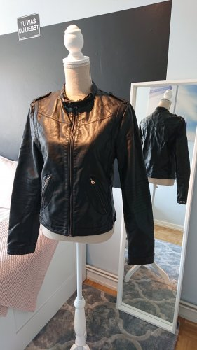 Sisters point Biker Jacket black polyester