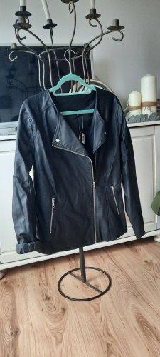Esmara Leather Jacket black