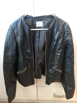 Pimkie Leather Jacket black