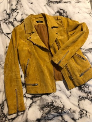 Only Giacca in pelle giallo-giallo-oro