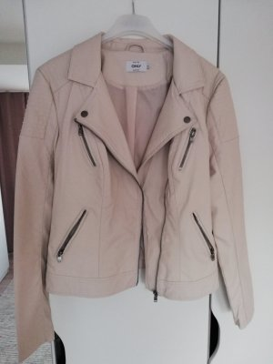 Only Giacca in ecopelle beige chiaro