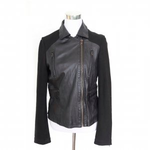 Liebeskind Leather Jacket multicolored leather