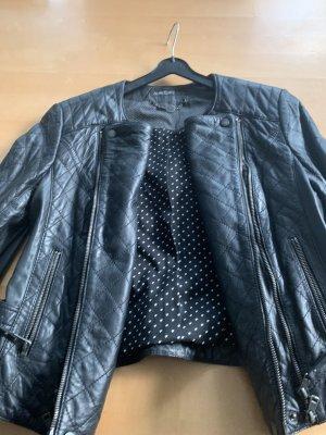Marc Cain Biker Jacket black leather