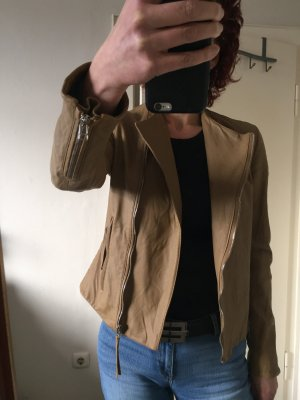 Michalsky Leather Jacket sand brown