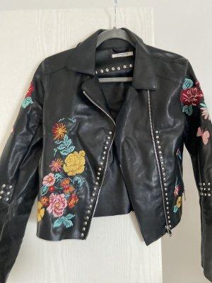 Glamorous Veste en cuir synthétique noir