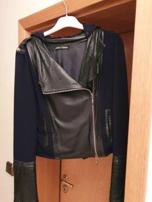 Carell Thomas Leather Jacket black