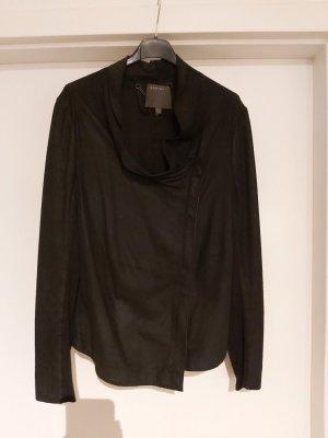 Muubaa Veste en cuir noir cuir