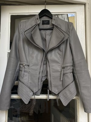Noémi Kent PARIS Leather Jacket grey