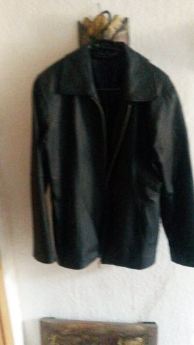 1060 Leather Jacket black