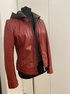 Oakwood Leather Jacket bordeaux