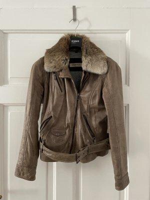 Oakwood Leather Jacket multicolored leather