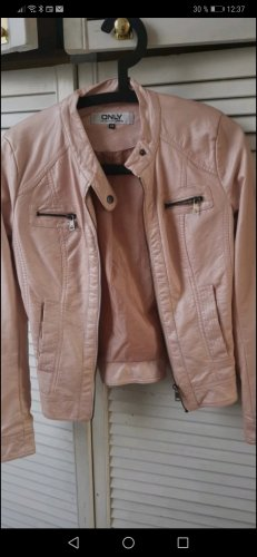 Be only Leather Jacket pink
