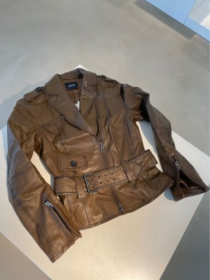 Orwell Leather Jacket light brown