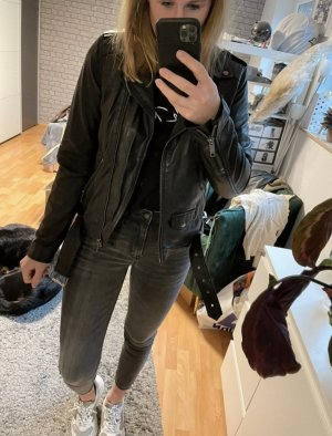 Review Giacca in pelle nero