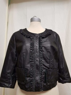 Lederjacke Riani schwarz in Größe 40