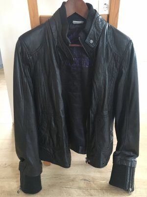 Street One Leather Jacket black