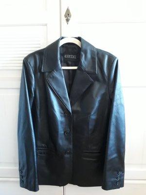Barisal Veste en cuir noir cuir