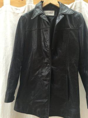 Lederjacke schwarz Vintage