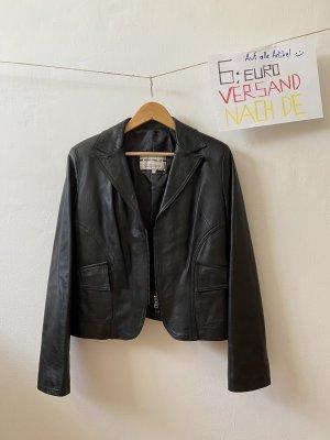 Vera Pelle Leather Jacket black