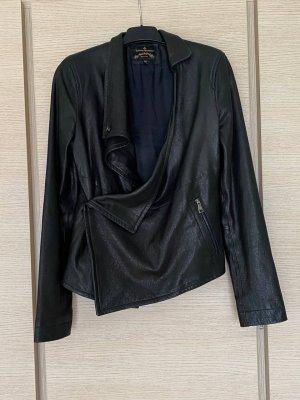 Vivienne Westwood Chaqueta de cuero negro