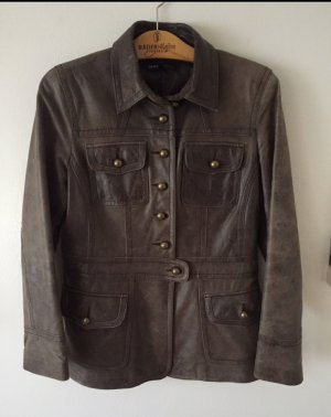 Arma Collection Leather Jacket brown leather
