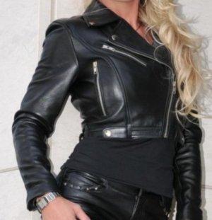 Crazy Outfits Kurtka typu biker czarny