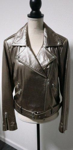 Lederjacke von der Designerin Rena Marx