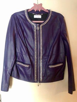 Escada Sport Leather Jacket multicolored